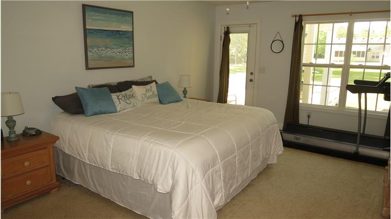 Large master bedroom with walking closet