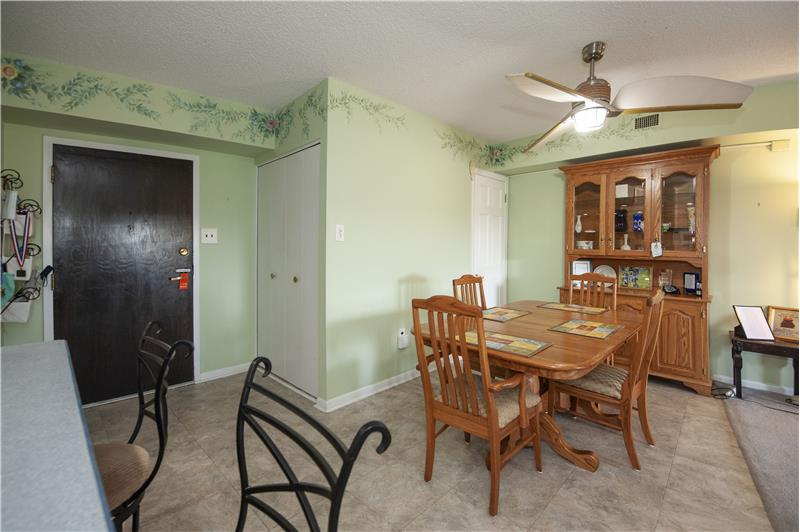 10714 Valley Forge Circle Dining Area