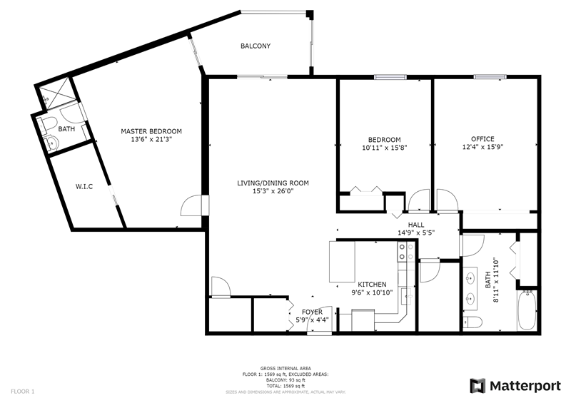 10714 Valley Forge Circle Floor Plan