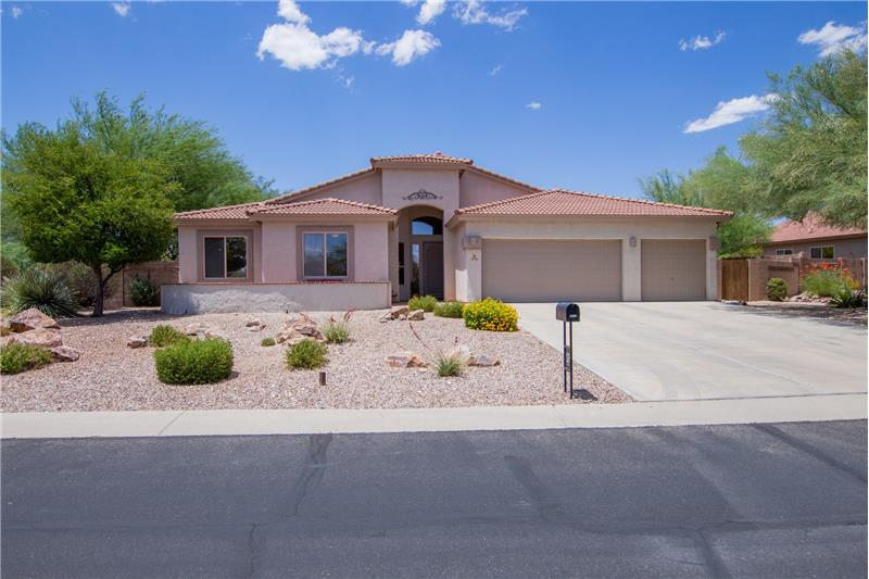 3-Car Garage & Extended Length Driveway!