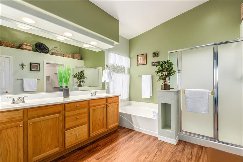 Walk-In Shower & Soaking Tub