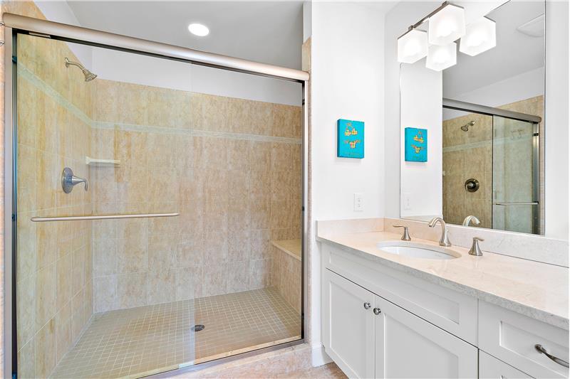 Double Vanity/Walk-in Shower
