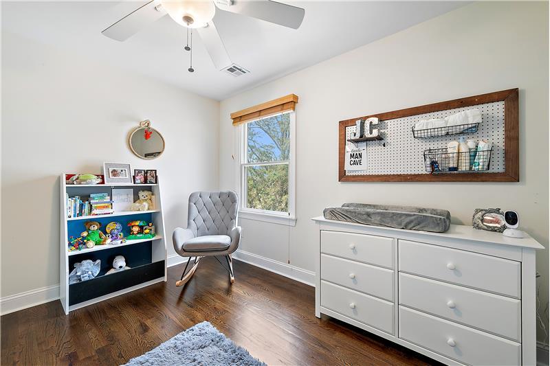 Bedroom 4 - Hardwood Flooring