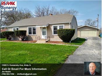 11652 S. Komensky Ave, Alsip, IL