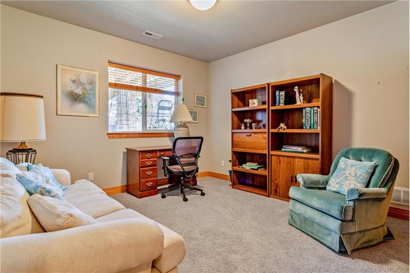 Guest bedroom #2 in basement