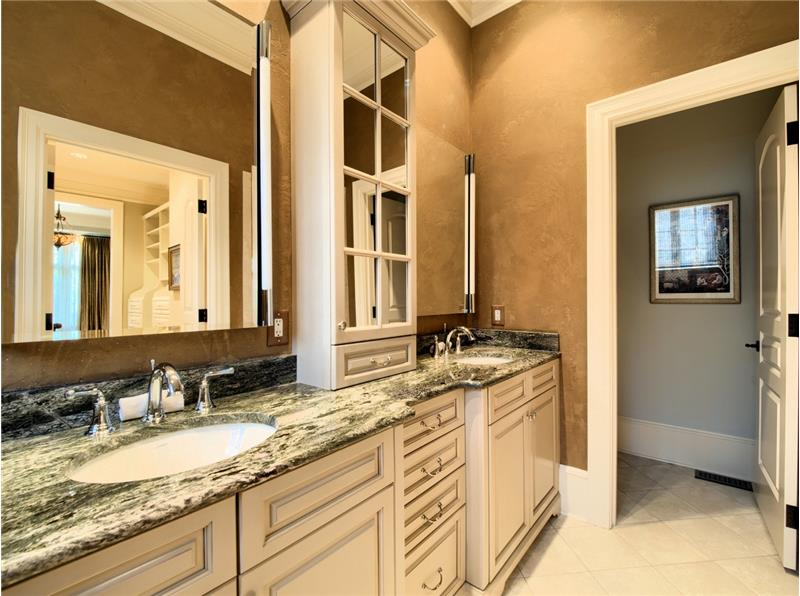 Gorgeous Custom Master Bathroom