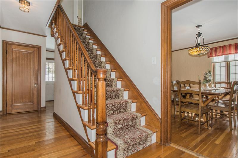 134 Newton Ave N - Staircase