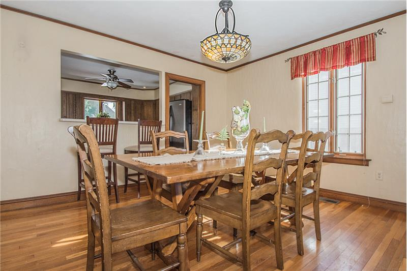 134 Newton Ave N - Dining Room