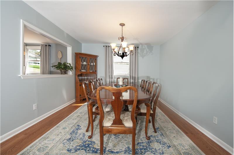 136 Green Hill Road Dining Room