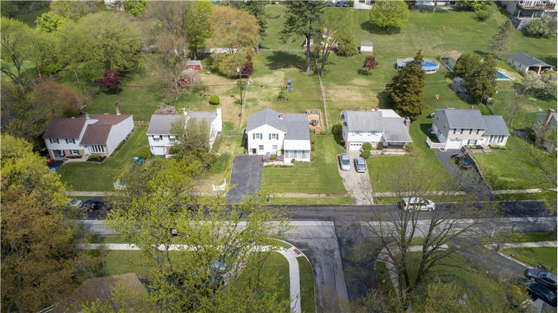 136 Green Hill Road Aerial View