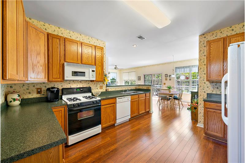 Open Kitchen-Dining Area