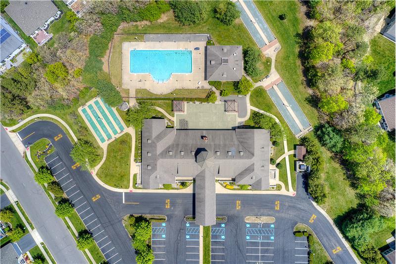 Community Center Aerial View