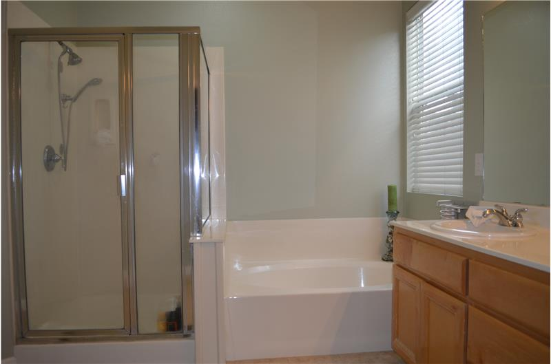 Tub and stall shower
