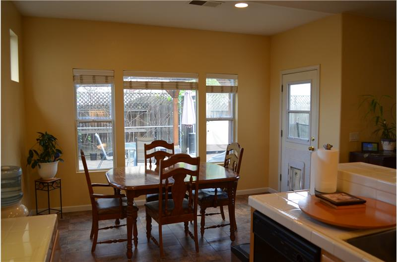 Dining Area off Kitchen