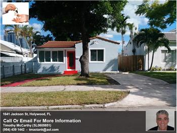 1641 Jackson St, Hollywood, FL