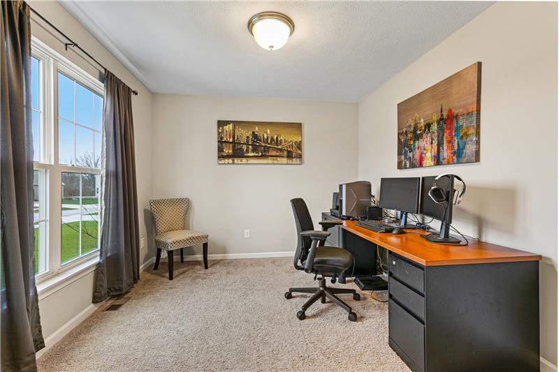 Office with Carpet