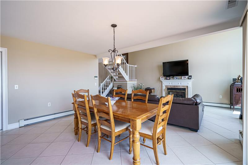 Open Dining & Living Area