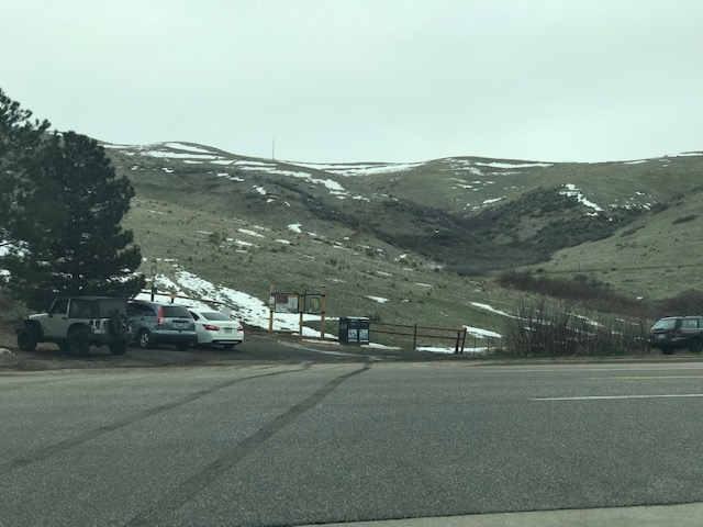 Green Mountain trailhead is 1.5 miles away