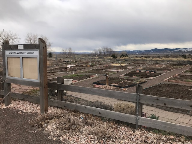 Ute Trail Community Garden is 1 mile away