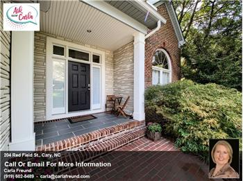 204 Red Field St., Cary, NC