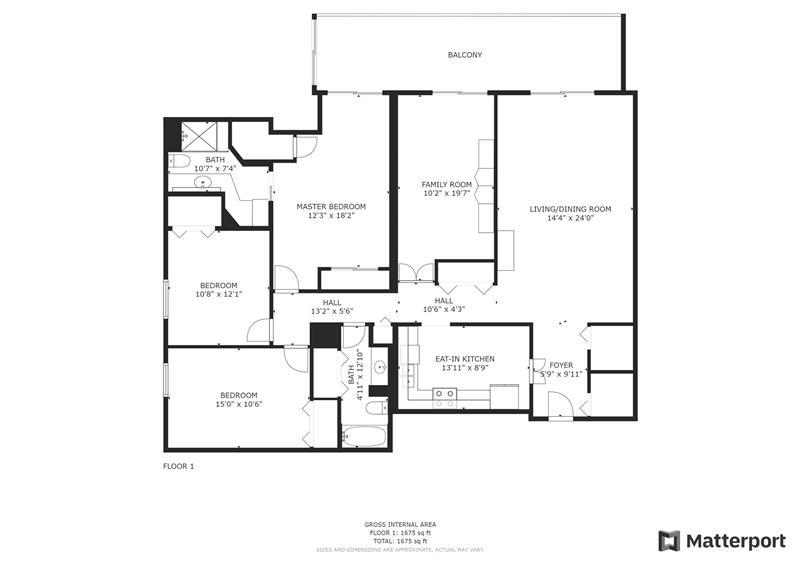 20737 Valley Forge Circle Floor Plan