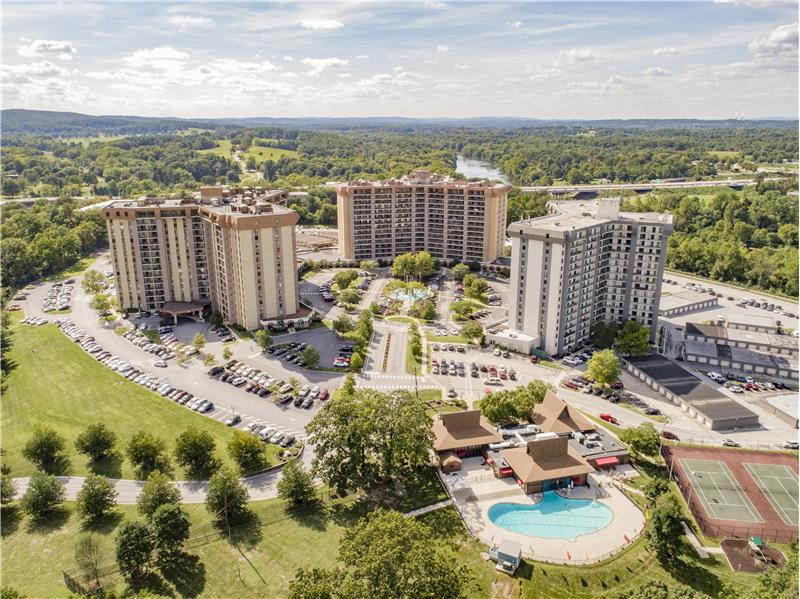 20737 Valley Forge Circle Aerial View of Community