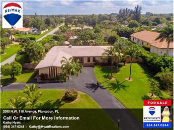 2080 N.W. 118 Avenue, Plantation, FL