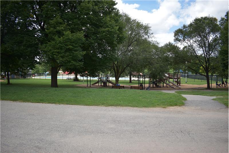 Community Pool & Play Area