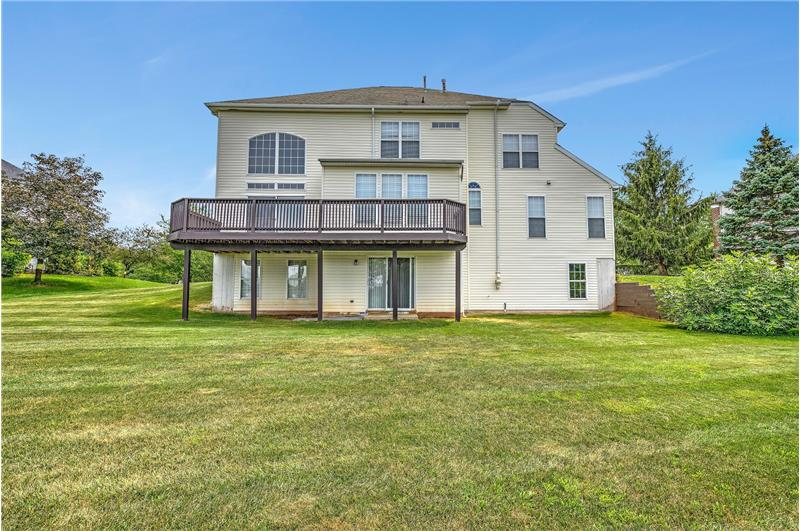 226 Paperbirch Drive, Collegeville, Back View