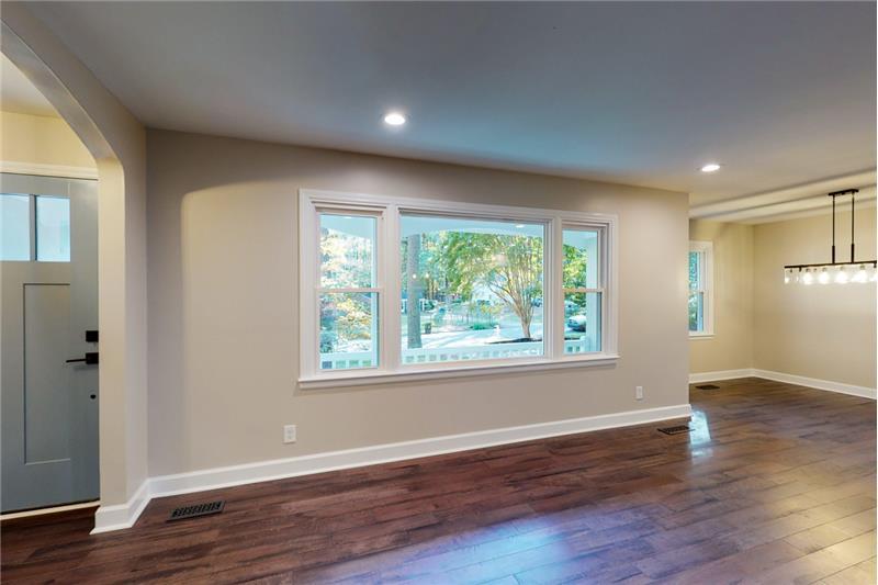 Light and bright open floor plan