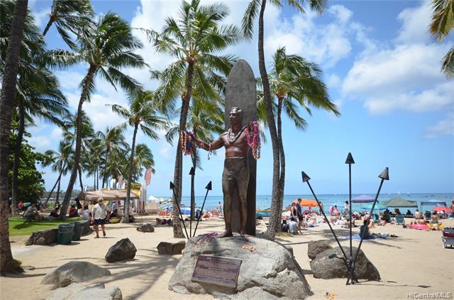Walk to Waikiki Beach