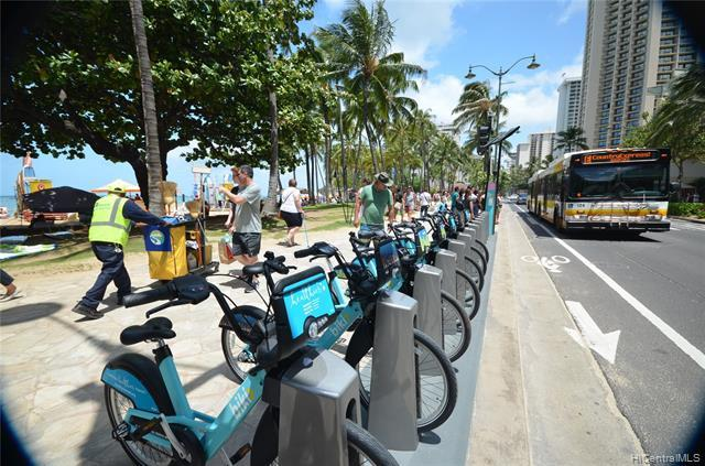 Bus Stop and Bike Rentals Nearby
