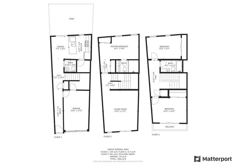 2568 Collins Street Floorplan