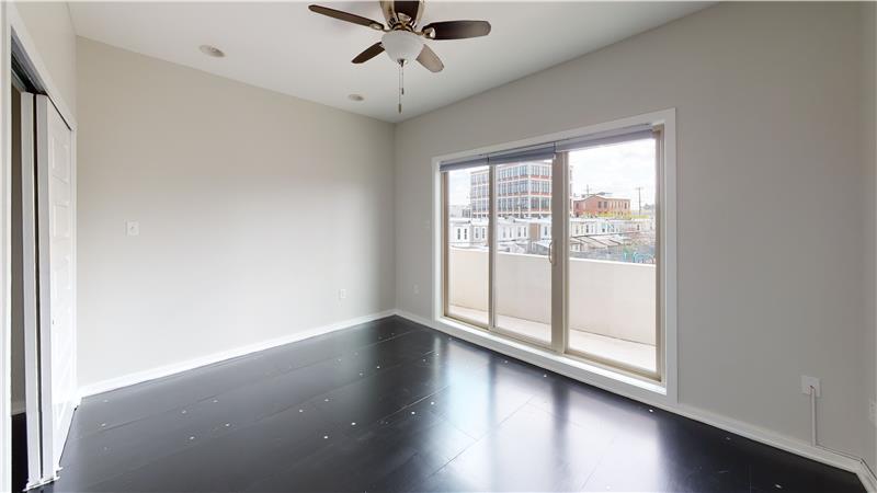 2568 Collins Street Bedroom with Deck