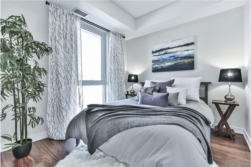 260 Sackville St 1 bedroom with den - bedroom