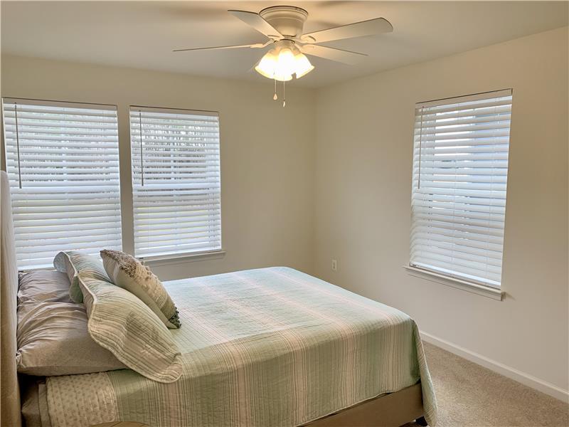 Upper Level Bedroom #2 with Queen Bed