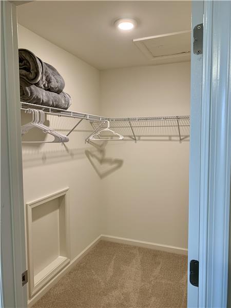 Upper Level Bedroom #3 Walk-In Closet