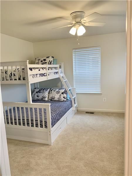 Upper Level Bedroom #3 w/ Full/ Twin Bunk Beds