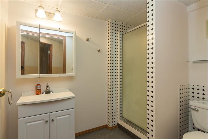 3 piece Basement bathroom