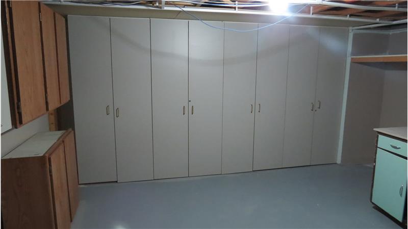 Work shop in basement