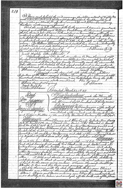 2854 Egypt Road Deed Essay Page Six