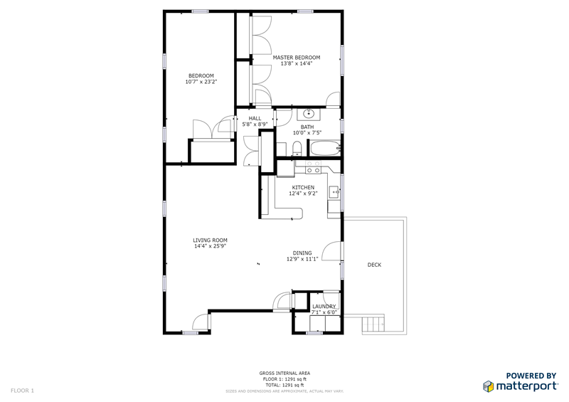 2854 Egypt Road Apartment Floorplan