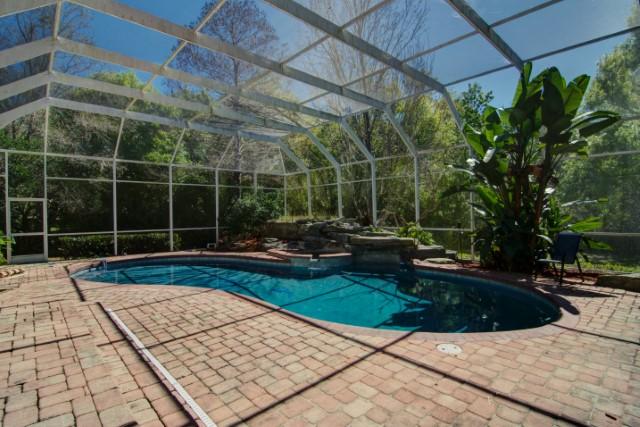 Lanai and Pool