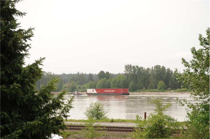 View of the Fraser River