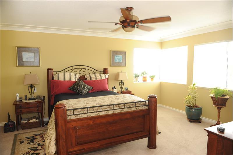 Master Bedroom with plenty of Windows