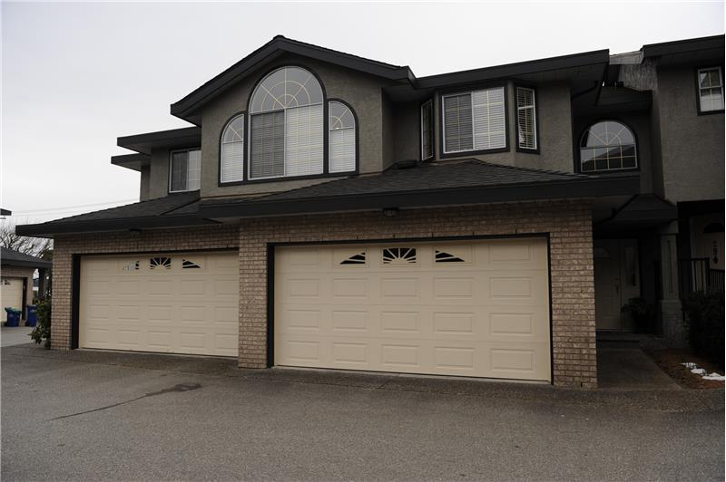 Exterior Front with Double Garage