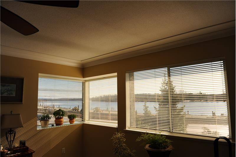 Master Bedroom with Fraser River View