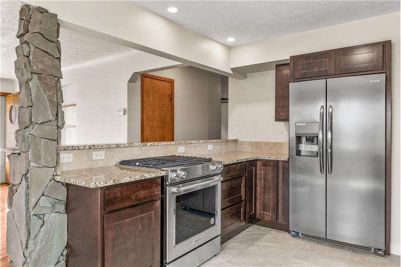 Renovated kitchen - All Appliances stay