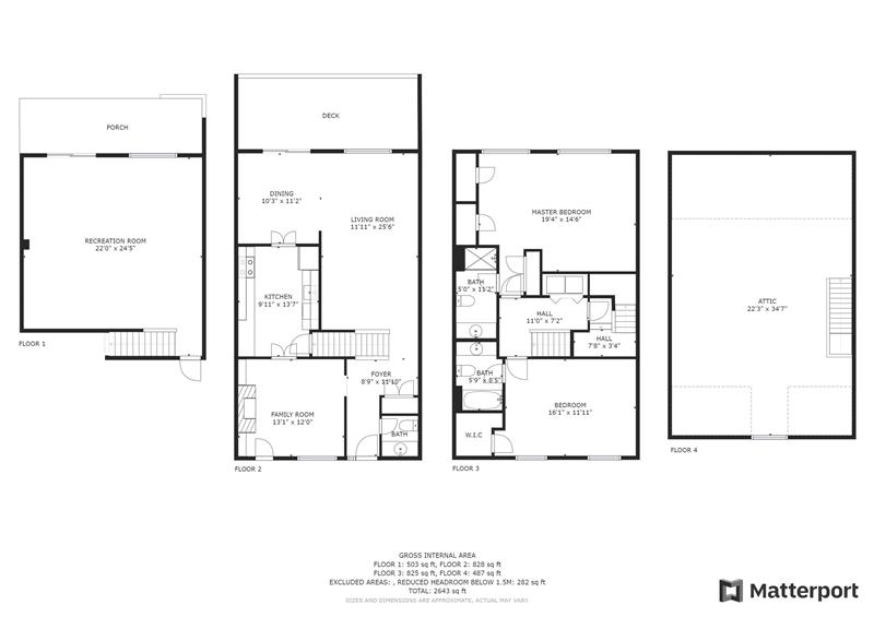 321 Paoli Woods Floor Plan
