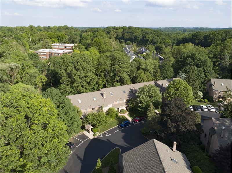 321 Paoli Woods Aerial View of Community